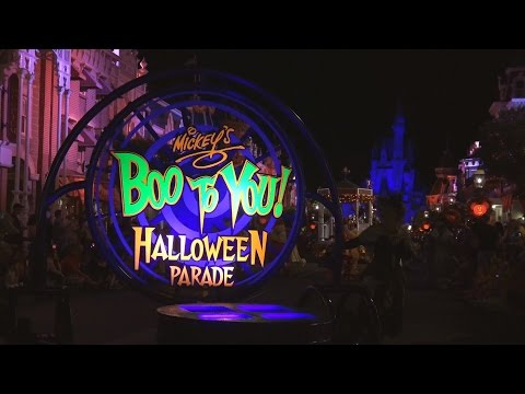 2015 Boo To You Parade - Highlights - Mickey's Not So Scary Halloween Party - Disney World
