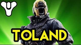Destiny Lore Toland The Shattered and The Hive