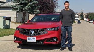 What Does Joe Think of the 2018 Acura TLX? - Joe Random