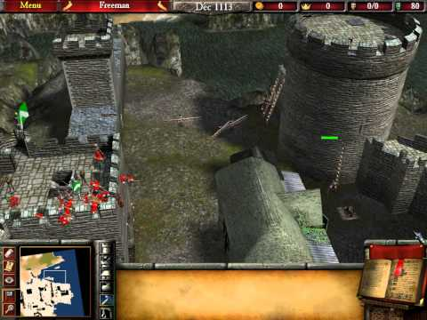 Let's Play Stronghold 2 #55 The Fall of Barclay! |