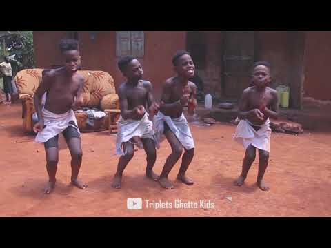 TRIPLETS GHETTO KIDS DANCING TO ABULE BY PATORANKING