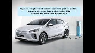 Hyundai IONIQ Electric bekommt 2020 ein Batterie Upgrade