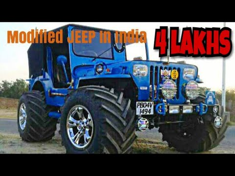 Best Modified Jeep In India || Modified Thar || Modified Cars in India