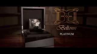 Montre de luxe : BELTONN PT 950 PLATINUM