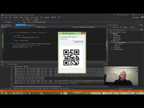 C# Helper Class for Generating QR Codes using the Google Charts API
