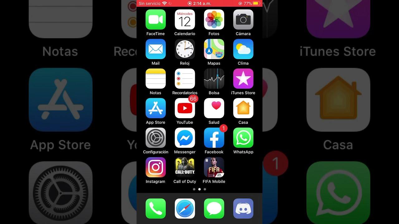 Como grabar tu pantalla en IPhone