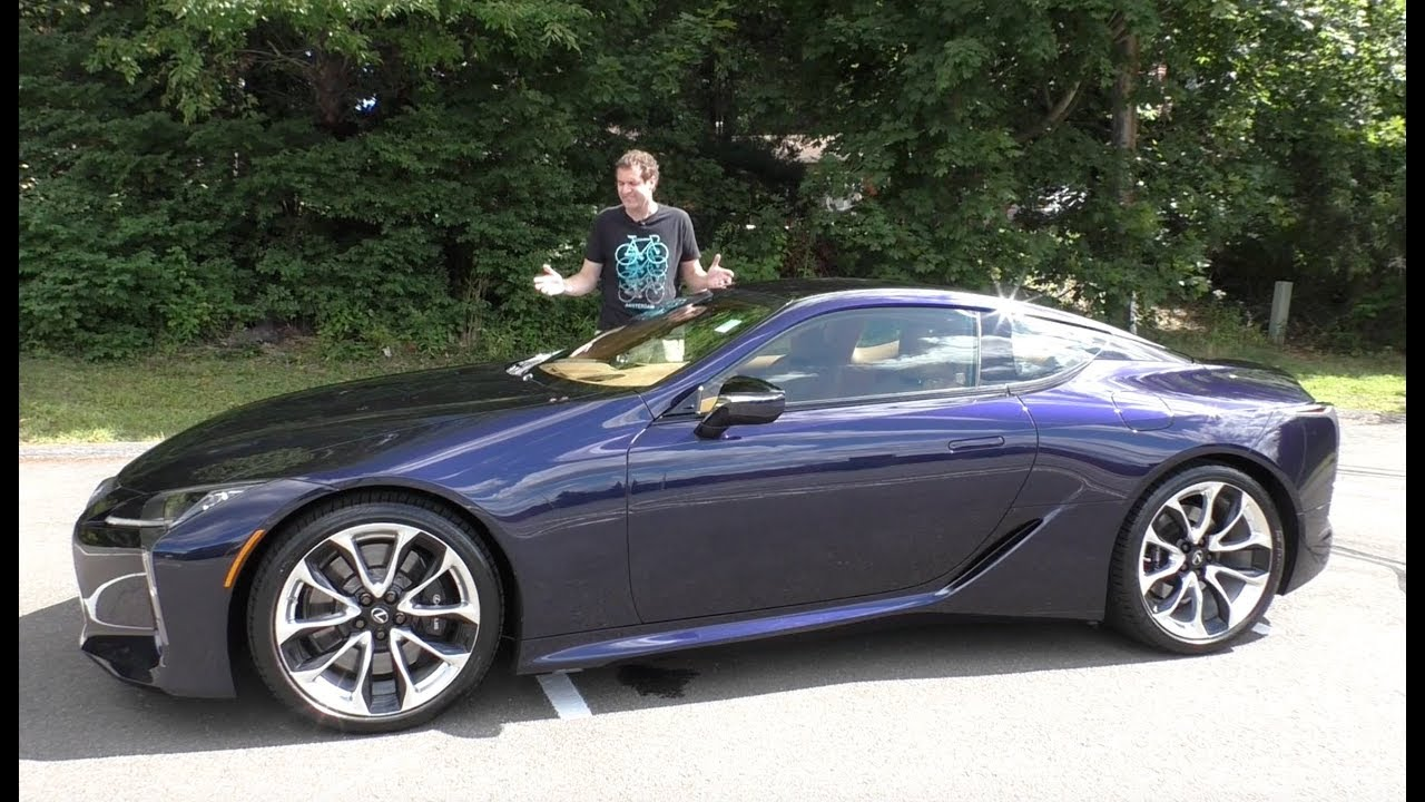 Here's Why The 2018 Lexus LC500 Costs $100,000