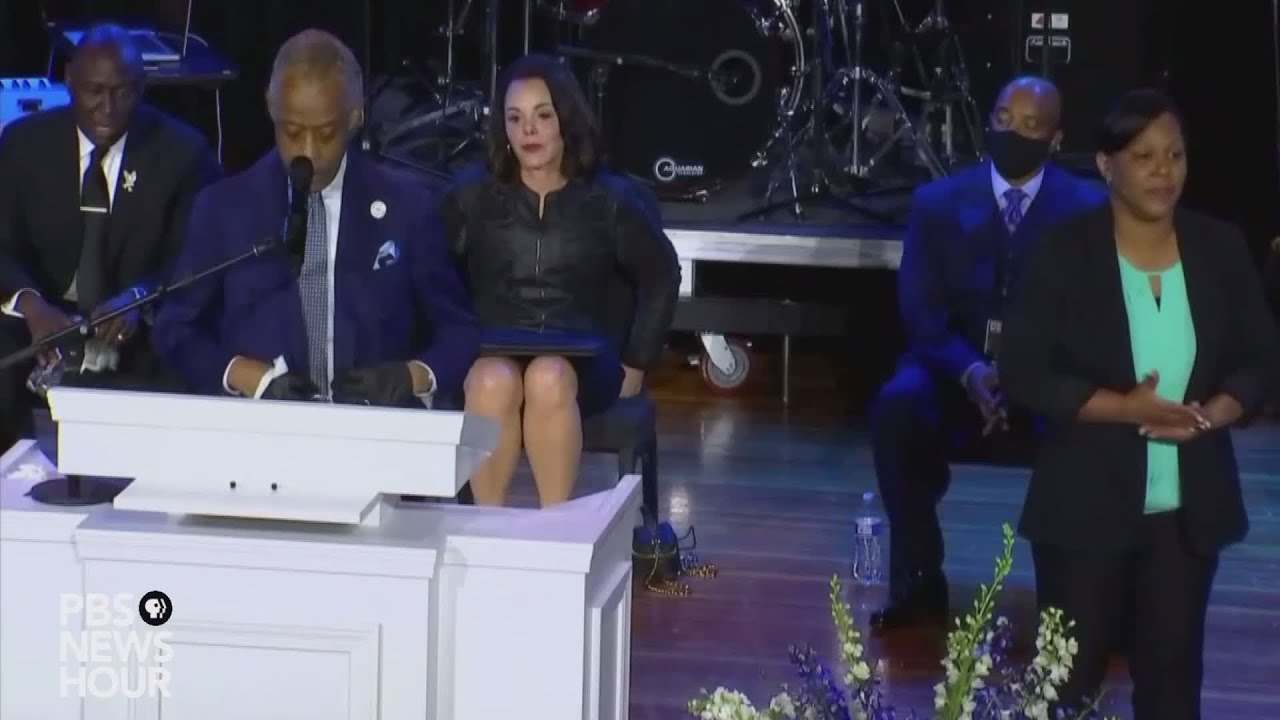 WATCH: Rev. Al Sharpton eulogizes George Floyd during memorial in Minneapolis