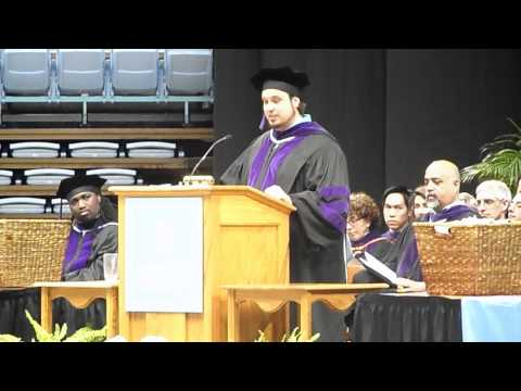 UNC School of Law Commencement 2011 - SBA President