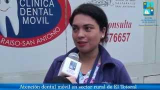 Atención Dental Móvil en sector rural El Totoral