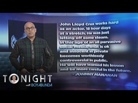 TWBA: John Lloyd Cruz says sorry for his cyber scandal