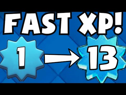 Clash Royale Fastest Way To Level Up | How To Gain Experience (Quickest Strategy) Gameplay Tips