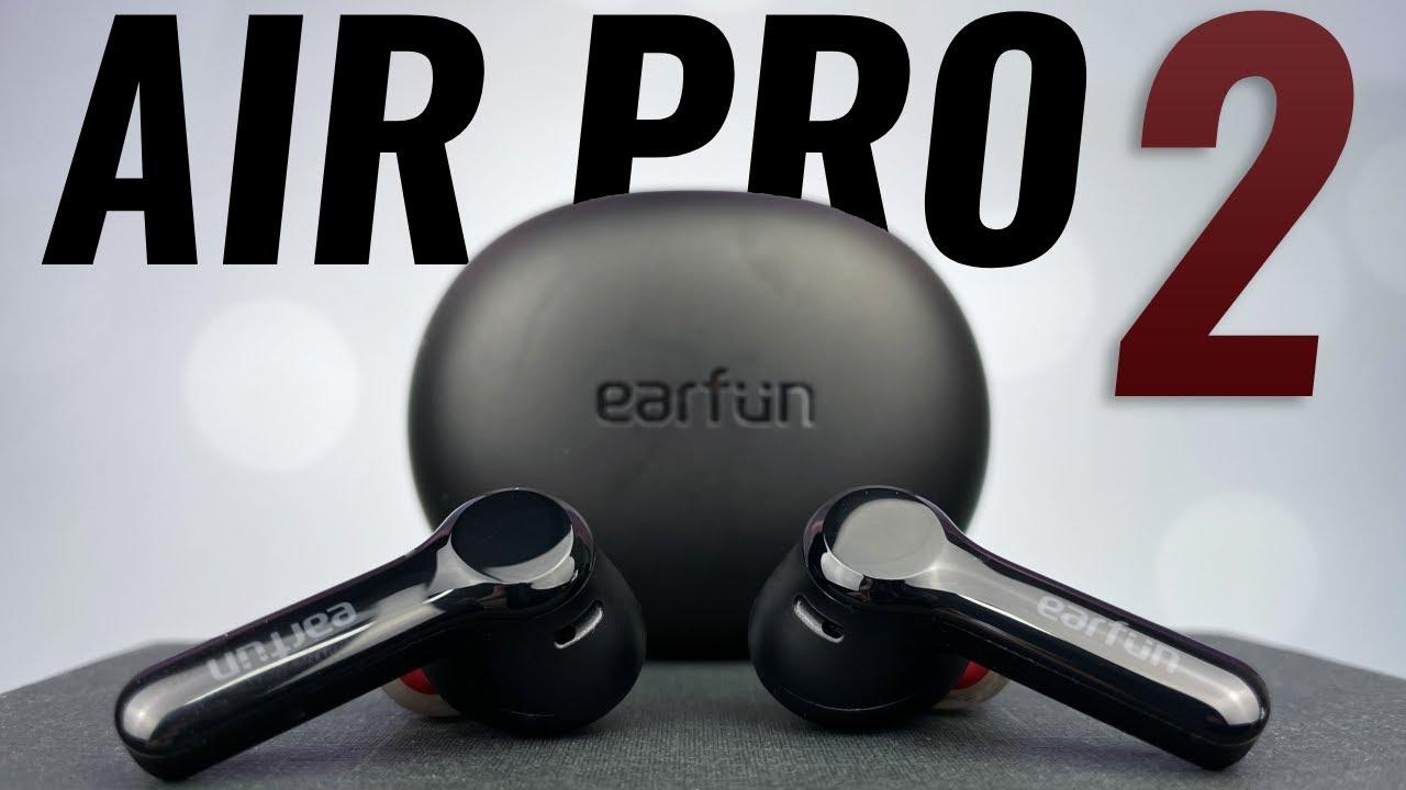 NICE UPGRADE! EarFun Air Pro 2 ANC True Wireless