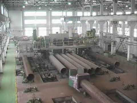 Производство труб большого диаметра (Китай)