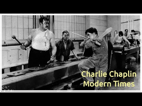 Charlie Chaplin Modern Times    Hilarious Comedy By Chaplin