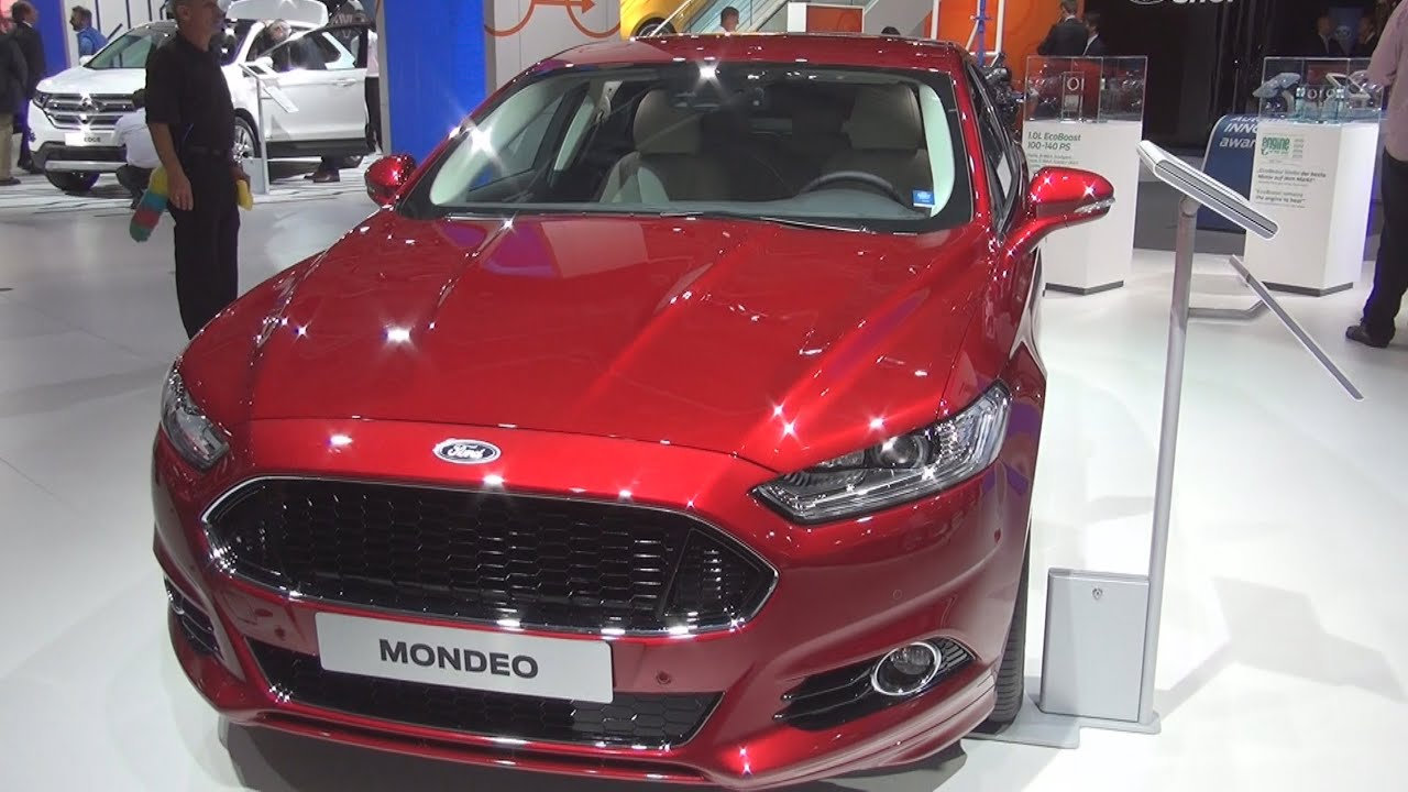 Ford Mondeo 2015 Interior >> Ford Mondeo Titanium 2.0 TDCi 132 kW AT AWD Start&Stop (2016) Exterior and Interior in 3D - YouTube