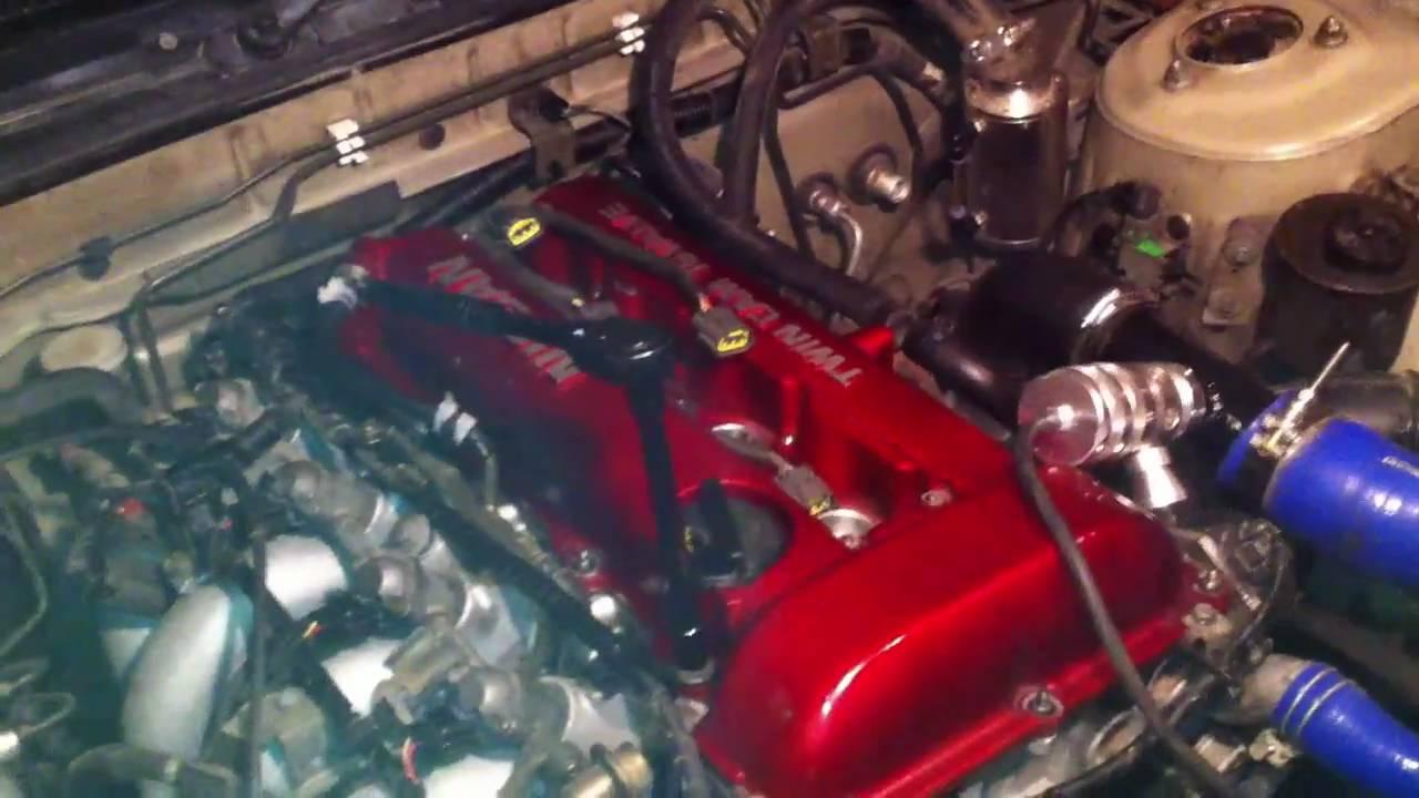 hight resolution of s13 sr20det valve cover problem