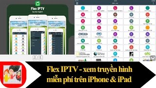 Xem 167 kênh truyền hình cáp miễn phí trên iPhone và iPad