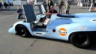 Gulf Porsche 917 Start Up