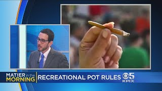 At Issue: Regulating Recreational Marijuana