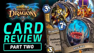 NEW LEGENDARIES AND MORE! | Descent of Dragons | Hearthstone Expansion