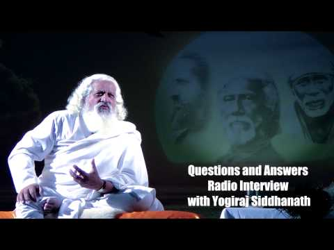 Yogiraj Siddhanath Radio Interview by Shadoe Stevens, Mental Radio