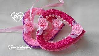 Валентинки из фома своими руками МК/ DIY Valentine's card from Thomas/PAPSd. Dia dos namorados #200