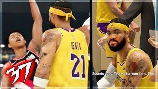 NBA 2k20 MyCAREER - 2k PATCHED THE BEST OFFENSIVE THREAT BUILD! VOTED ALL STAR! Ep. 37