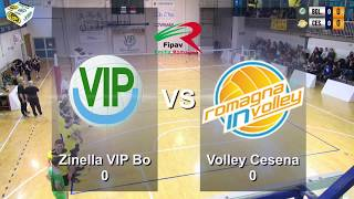 Playoff serie C  ZINELLA VIP vs Volley Club Cesena Riv FC