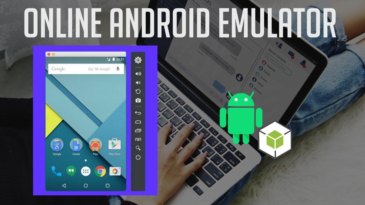android emulator online browser