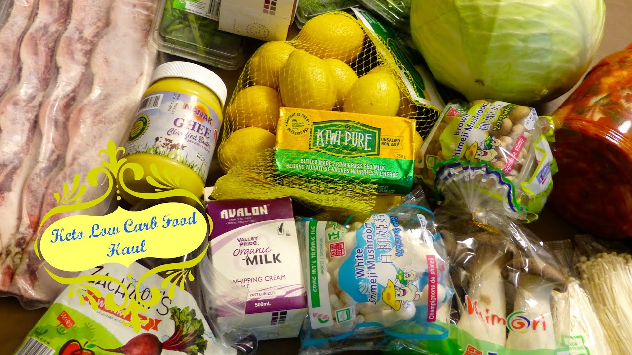 Ketogenic Diet Food Grocery Haul | By Victoria Paikin | By VIctoria Paikin - YouTube