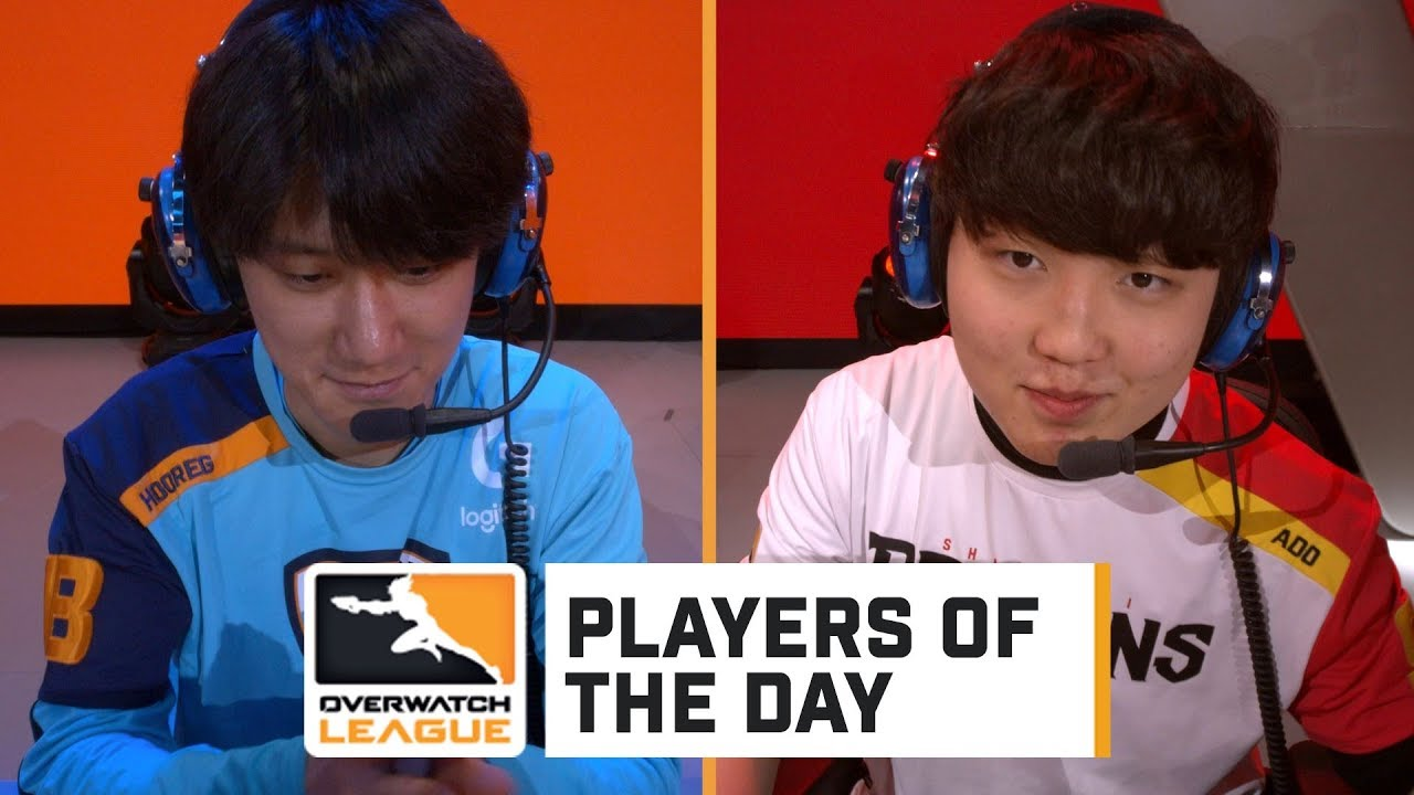 Hooreg And Ado Players Of The Day Overwatch League Youtube
