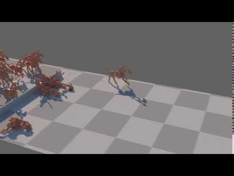 #TyFlow - Crowd Simulation