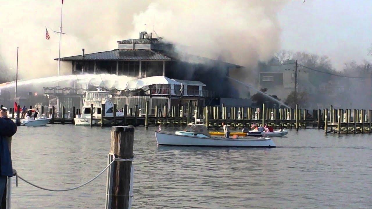 Annapolis Yacht Club Fire Youtube