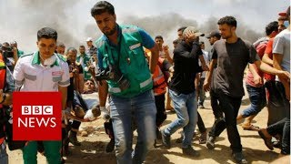 Gaza: Death toll rises to 52  - BBC News