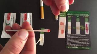 SwabTek - Testing for Cannabis in Vape Pens