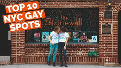 TOP 10 NYC GAY SPOTS YOU CAN'T MISS!