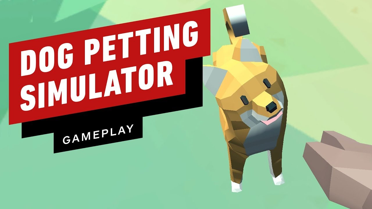 In Dog Petting Simulator, Yes. You Can Pet The Dogs
