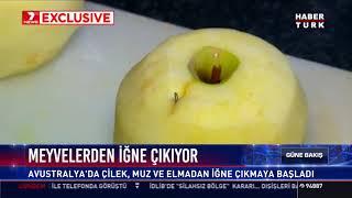 Meyvelerden iğne çıkıyor