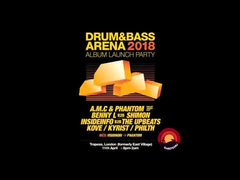 Benny L B2B Shimon @ Drum and Bass Arena 2018 Launch Party
