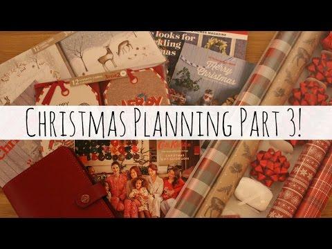 Christmas Planning - Part 3! | MyCraftyFox