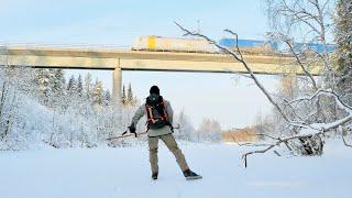 Along the Frozen River