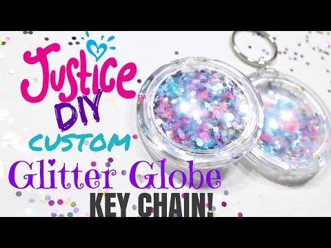 Best DIY Glitter Globe Keychain Tutorial!
