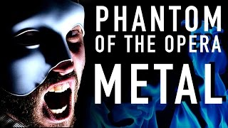 phantom of the opera metal version jonathan young cover ft malinda kathleen reese