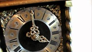 Very Large Warmink Dutch Zaandam 8 Day Nut Wood Wall Clock For Sale  On Ebay Uk.
