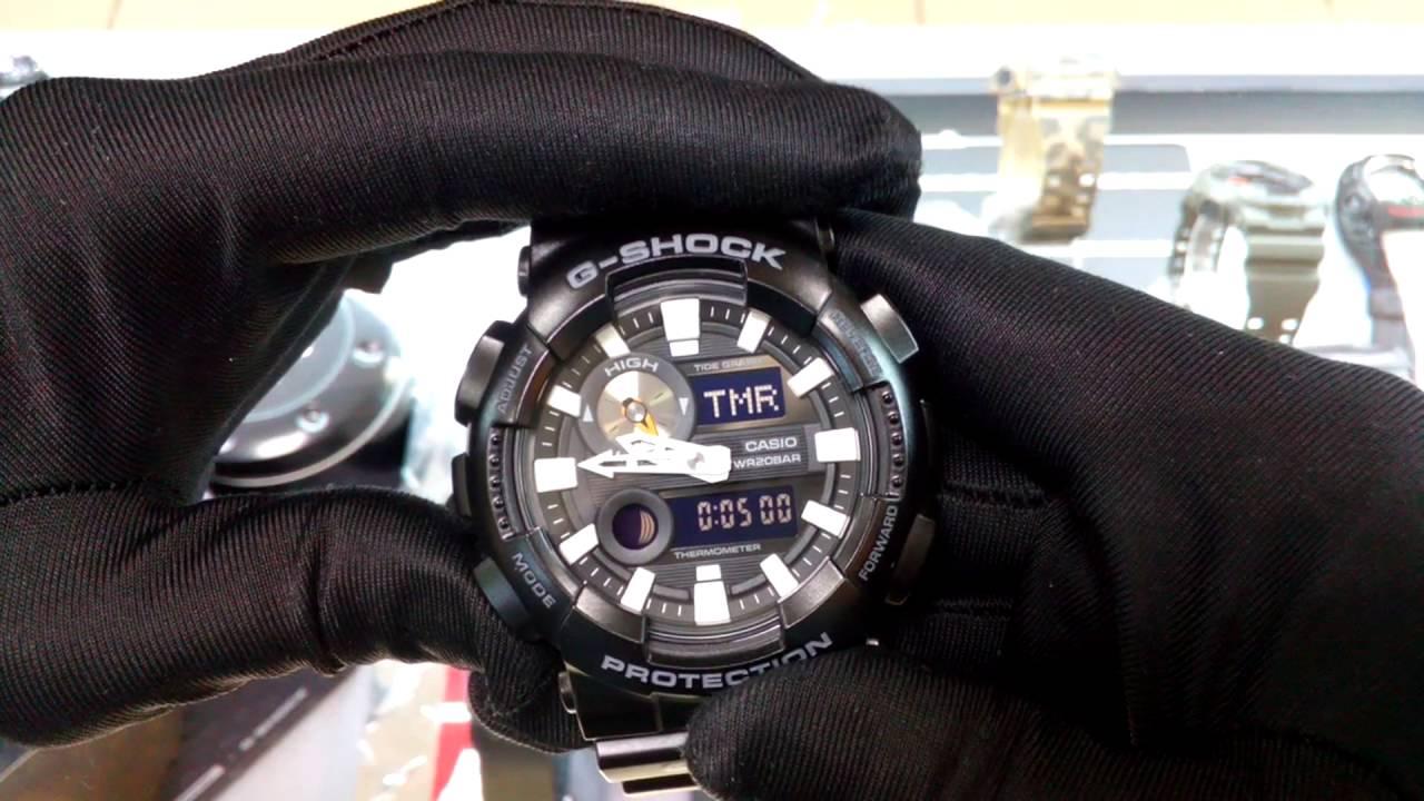 125463fafad CASIO G-SHOCK GAX-100B-1A - YouTube