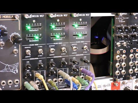 G-Storm Electro 3x Delta VCF Eurorack Filter [Demo #4]