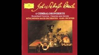 Johann Sebastian Bach - Konzert für Cembalo und Orchester d moll BWV 1052