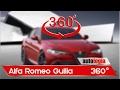 Análisis interior 360° Alfa Romeo Guilia