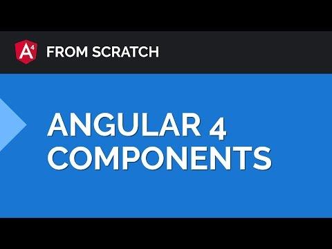 Angular 4 Components